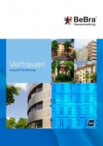 BeBra Hausverwaltung Unternehmensbroschüre
